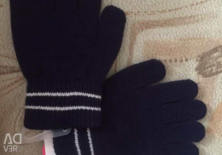 Gloves for girls 2-4 years old