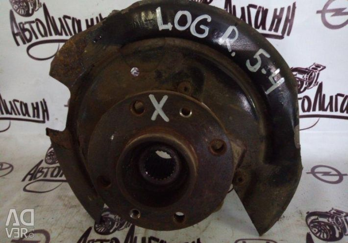 Swivel fist (axle) front right Renault
