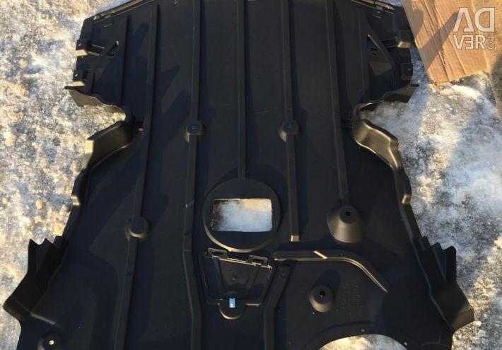 BMW 3 E90 E90 Προστασία κινητήρα