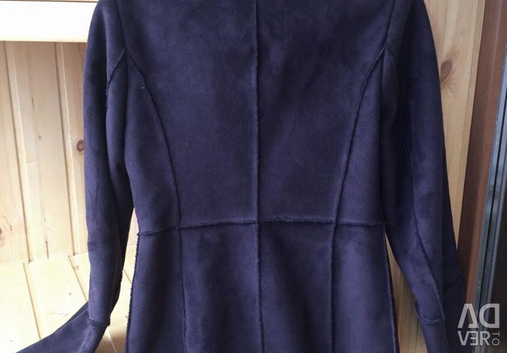 Sheepskin coat Zarina demi-season