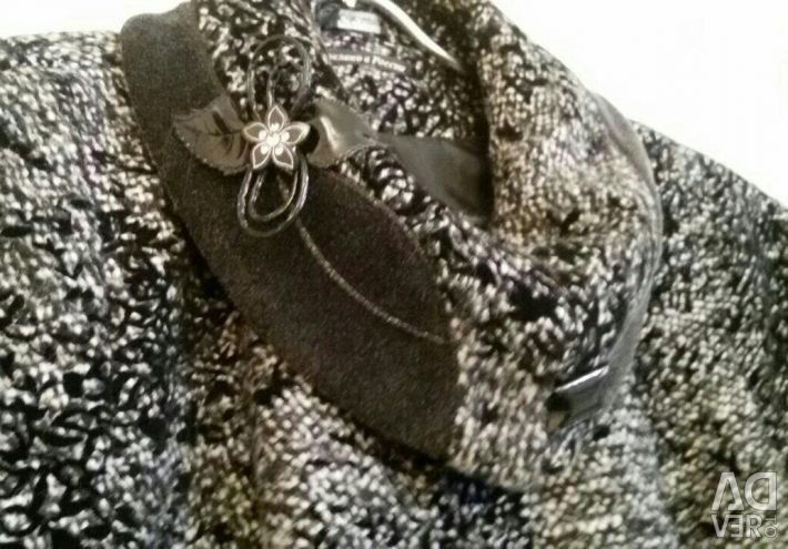 Palton drapat nou