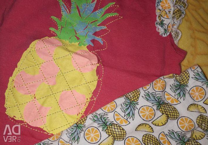 Costum pentru vara de 86-92 cm