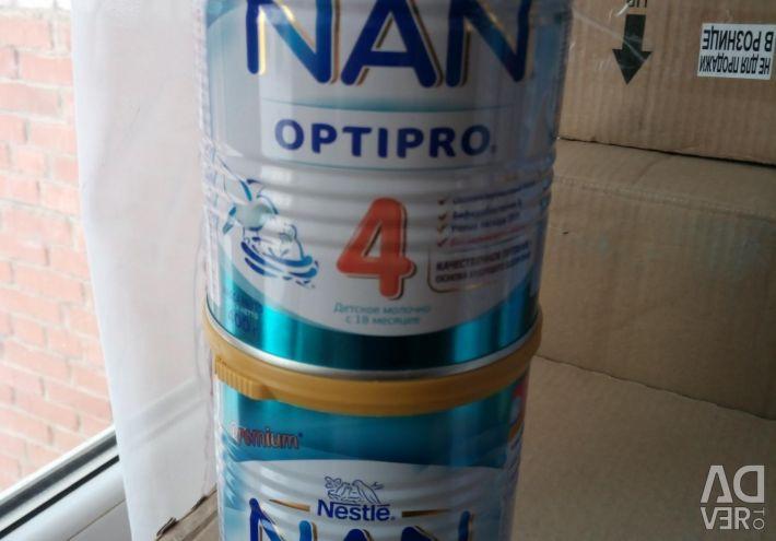 Nan, Nutrilon, other mixtures