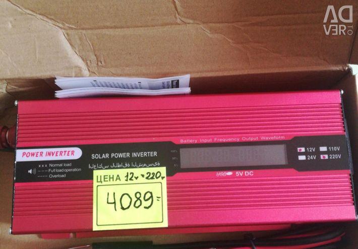 New auto converter inverter 12-220v