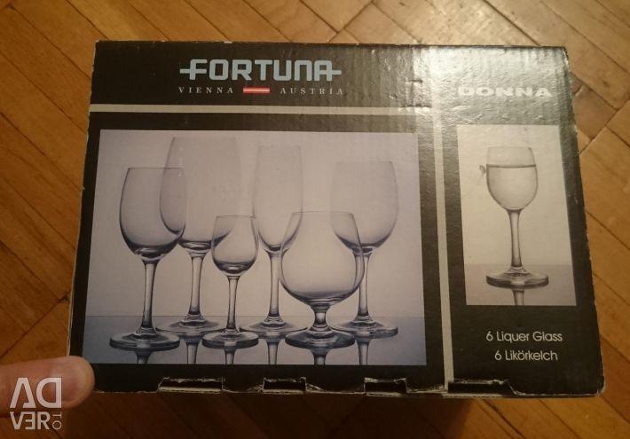 Glasses for vodka new