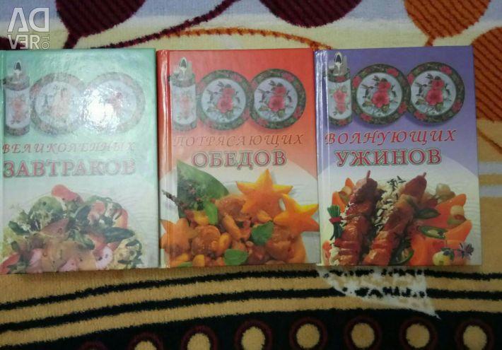 Cărți despre gătit.