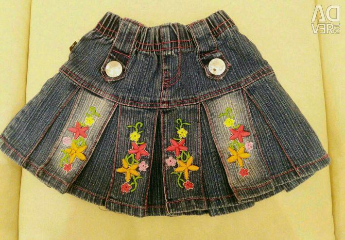 Η φούστα βγάζει τα σορτς 104 - 110