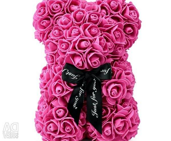 Мишки из роз Ликвидация склада