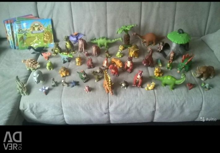 Deagostini Dinosaurs of the Jurassic Period