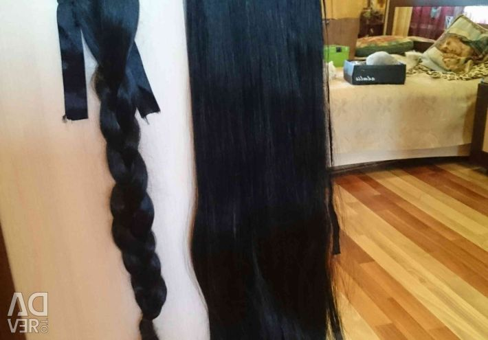 Braid - tail and tail 65cm.