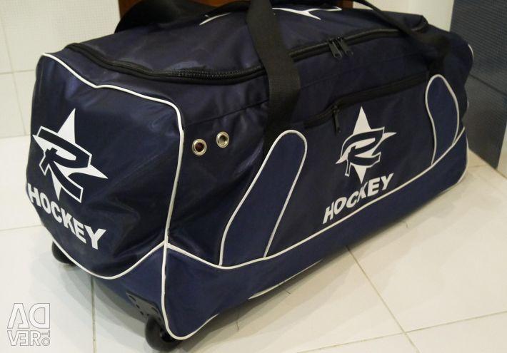 Sports bag Bauer bag on wheels. Delivery