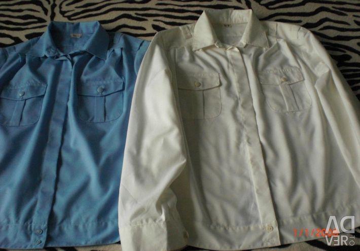 Două cămăși uniforme