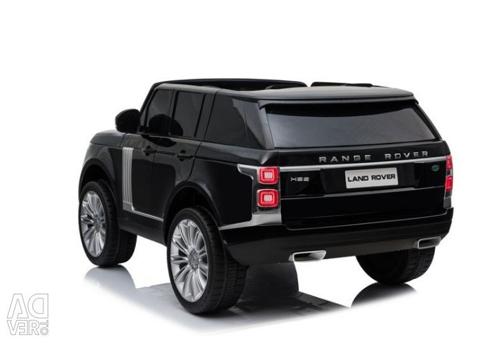Children's electric car Range Rover HSE 4WD Black