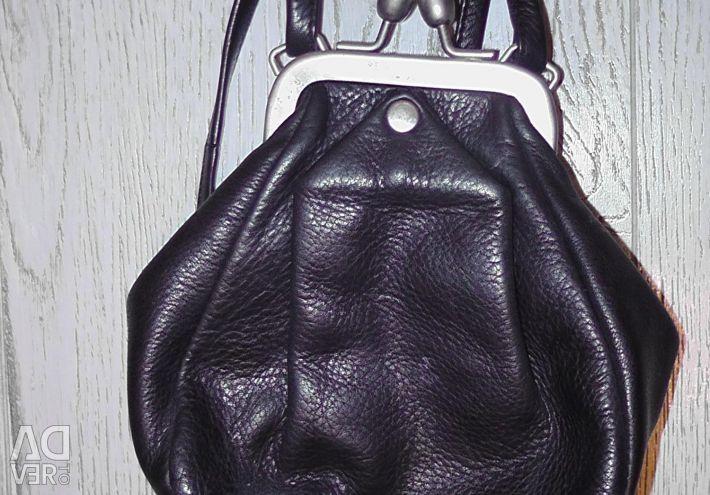 Leather reticule