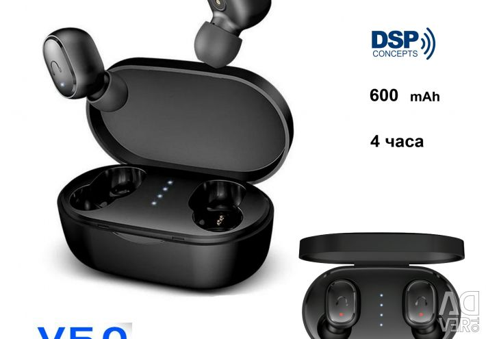 🔥 Навушники Umidigi Upods TWS BT5.0 DSP AAC Нові