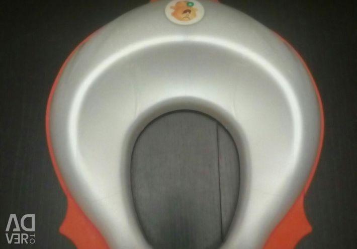Scaun pentru toaletă pentru copii