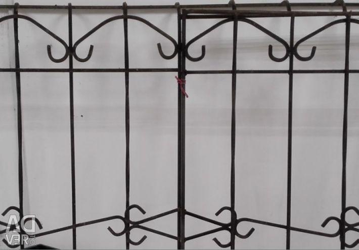 Yangın Çıkışlı Çelik Pencere Izgarası