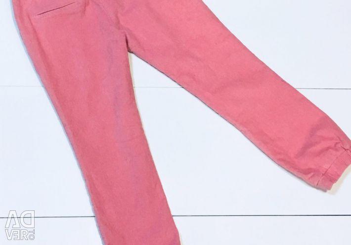 New DelSalitto micro-velours pants
