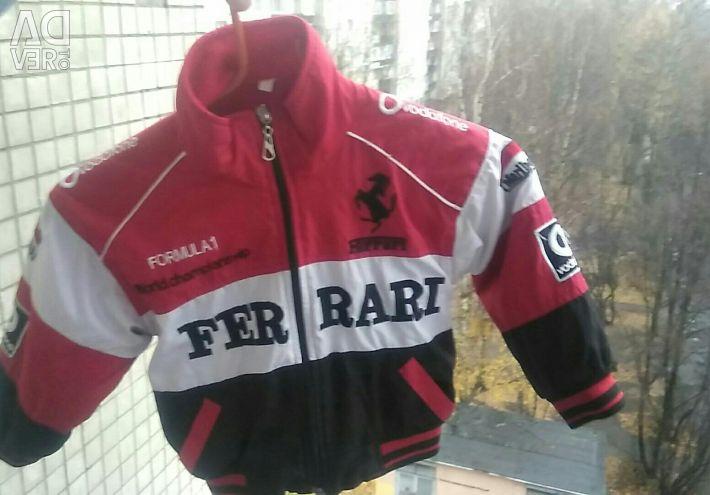 Unisex sports jacket for children