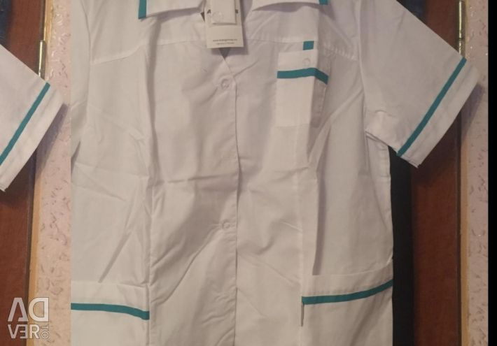 Specialist. Clothes of the cook or medical sister
