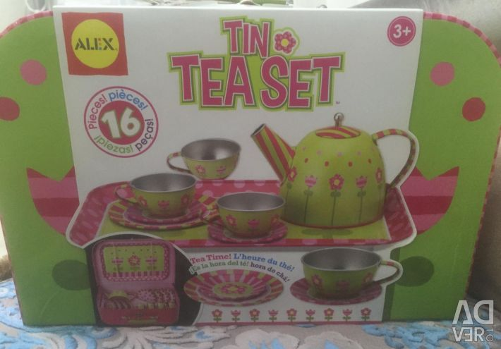Alex toys tea set Spring for dolls