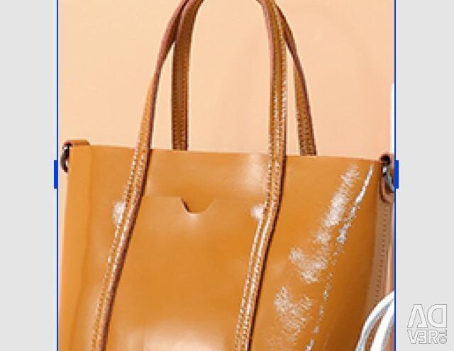 New handbag naturalka very fashionable