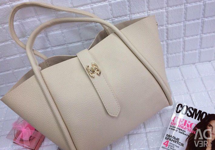 Τσάντα 2 σε 1 😍😍😍