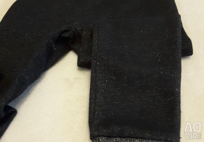 Joggers hm 98 - 104 (negru - strălucitor)