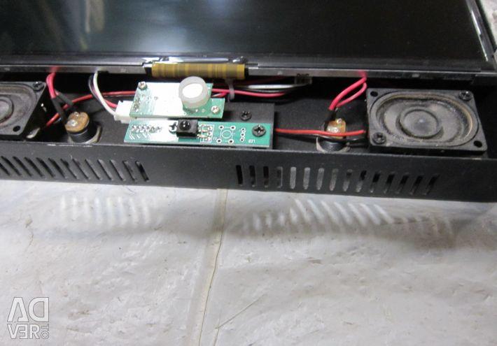 LCD monitor digital signage ad 10 - 25 cm speakers