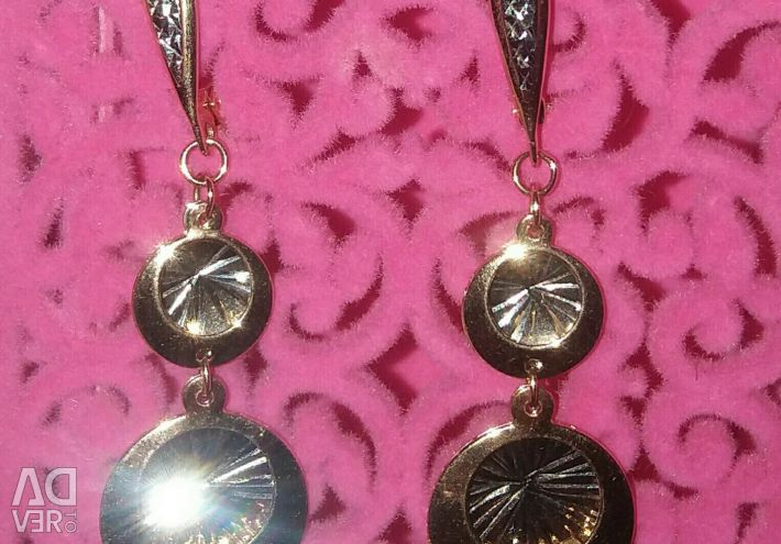 Gold Earrings Darina