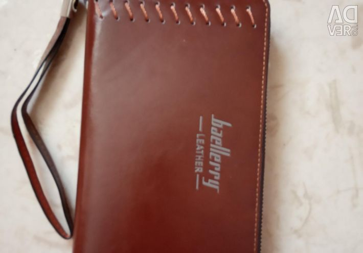 Clutch Baellerry Leather new