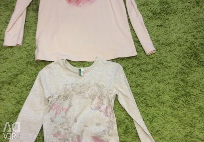 Sweatshirts for girls Zara, Benetton