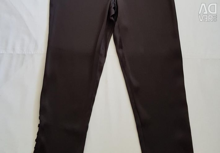 Silk pants new America