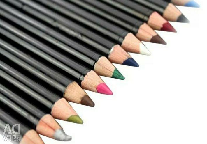 Dudak ve göz kalemi