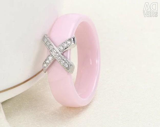 Новое кольцо керамика