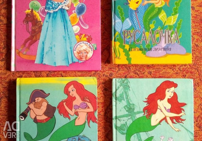 Books about Barbie and the Little Mermaid