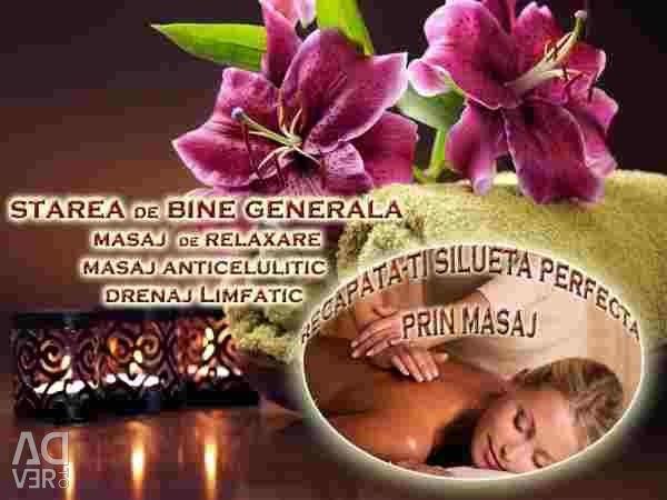 Terapötik masaj, rahatlama ve yüz hizmetleri sunuyorum