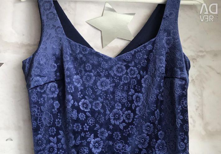 A dress from a velvet short new