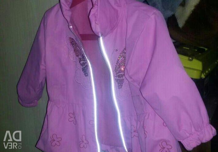 Куртка на флисе, р.86-92