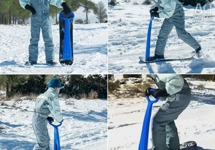 Winter Folding Scooter Snow Scooter AmHero New