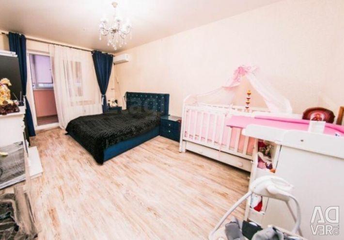 Квартира, 2 комнаты, 61.37 м²