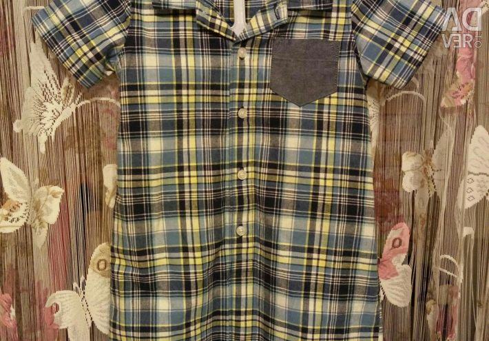 Carters (Carters) cămașă cămașă romer 24m nou