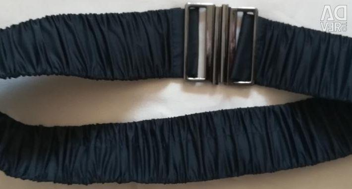 Liloti παλτό σκούρο μπλε με ένα βιζόν, r-48 (46)