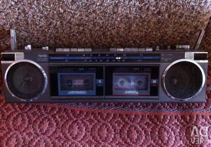 Teyp kaseti 2 kasetli