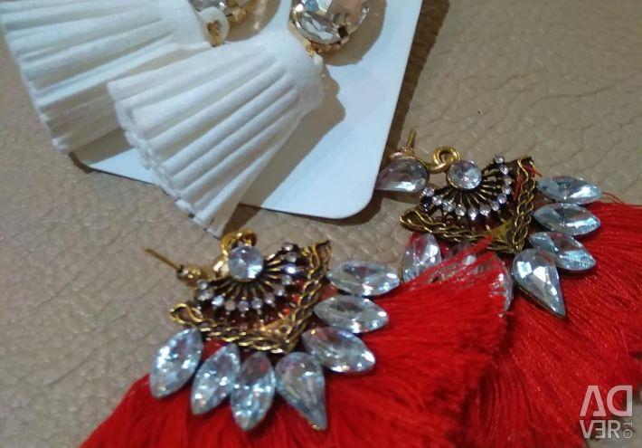 NEW earrings.