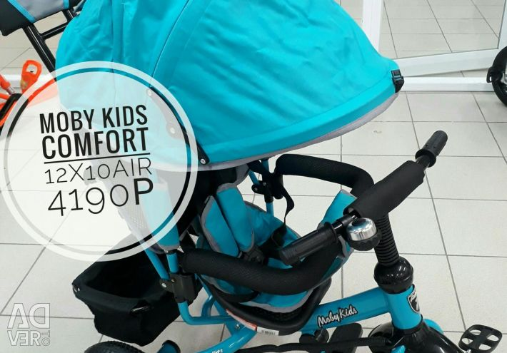Tricycle Moby Kids Comfort 12x10 Air