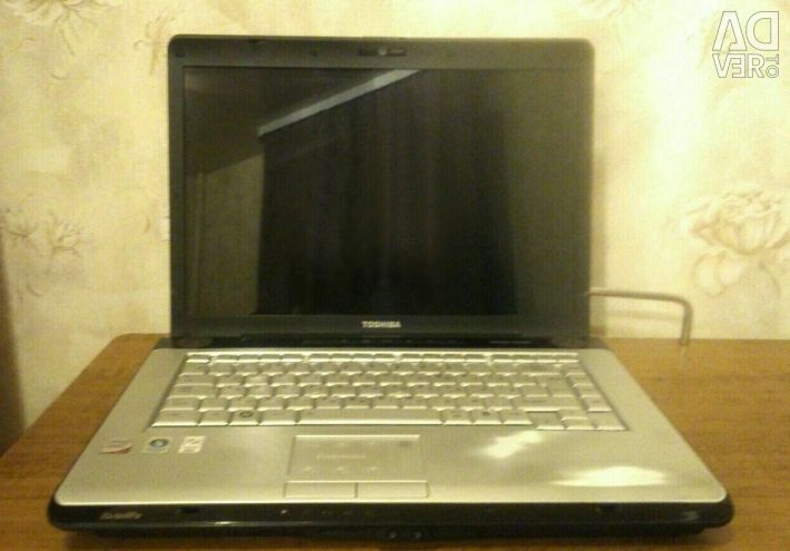 Laptop TOSHIBA for restoration or spare parts