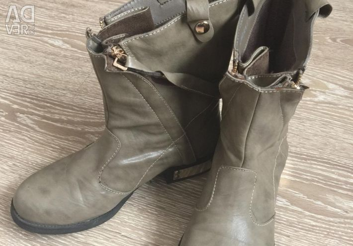 Boots, ankle boots fall-spring 37r.