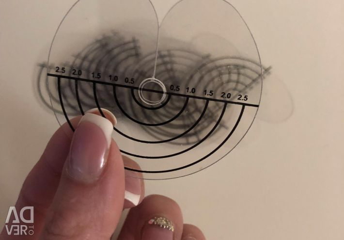 Separating discs for hair extensions