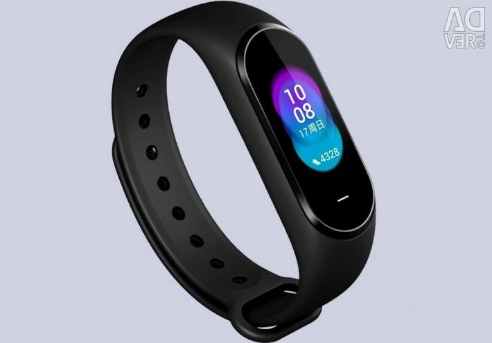 Fitness Mi Band 3 bracelet with a color screen